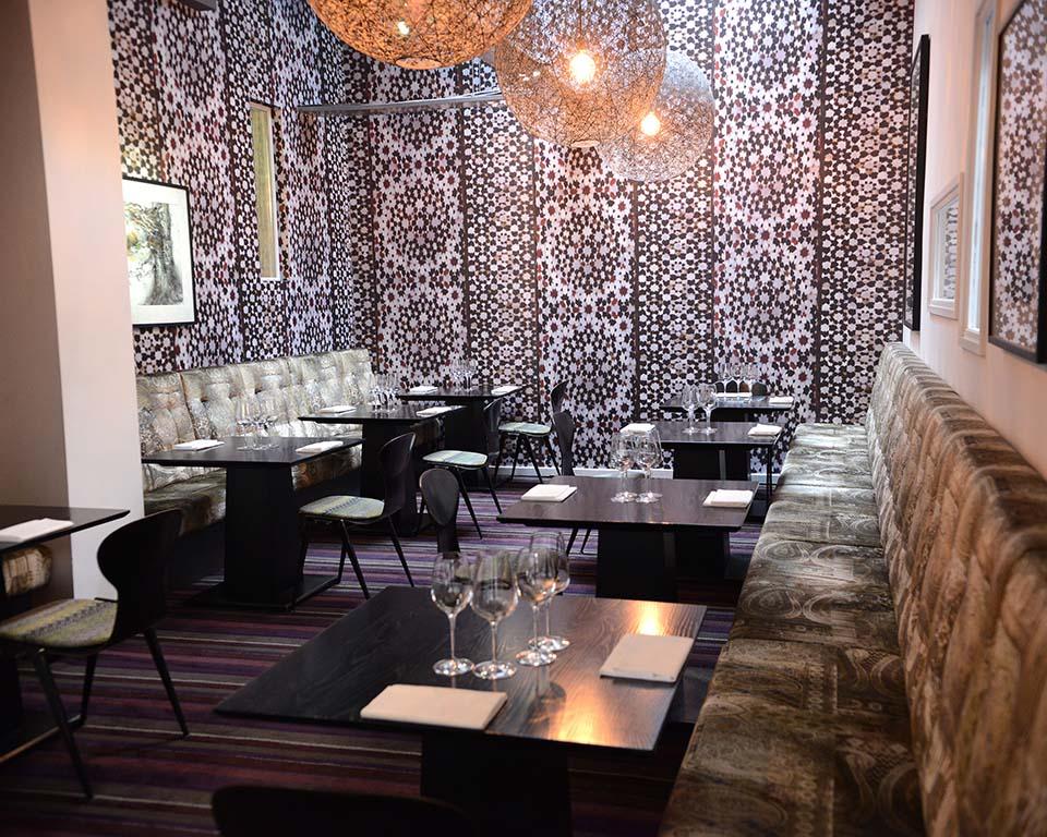 Purnells Restaurant dining