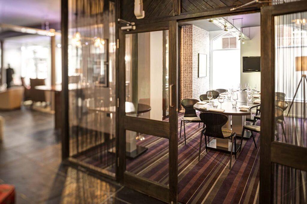 Purnells Restaurant Private dining