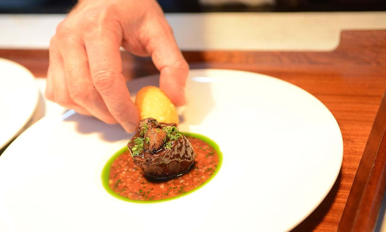 Purnells Restaurant food